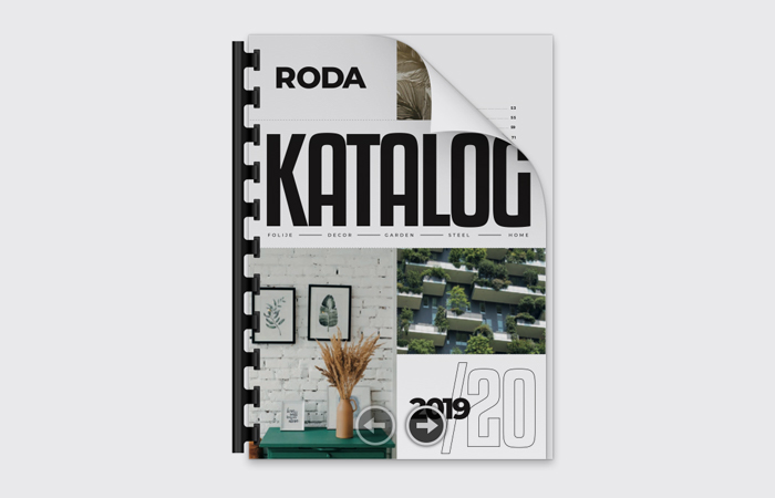 Roda katalog 2020-19 / Folije, Decor, Garden, Steel, Home